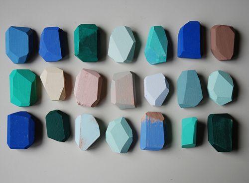 studio fludd // wooden gems