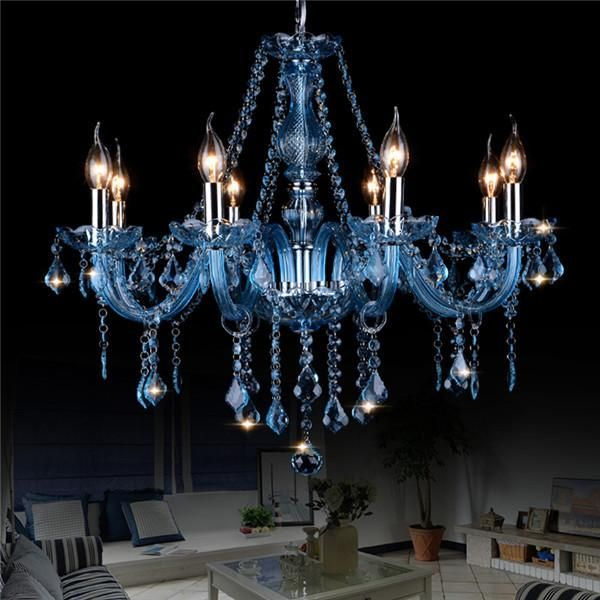Crystal Candle Pendant Lamp PL653