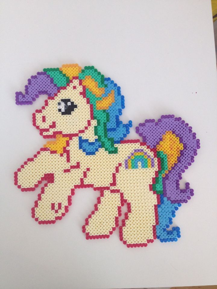 My Little Pony hama beads by Carina Bergenstoff