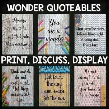 Wonder by RJ Palacio Novel Unit BUNDLE for Google Slides