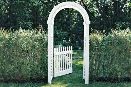How to build a Garden Arbor (this old house) $250 (estimate) for the cedar, moderate level of difficulty