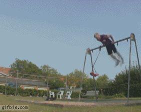 Urban gymnastics? Nailed it. | 17 Gymnasts Who Totally Nailed It!