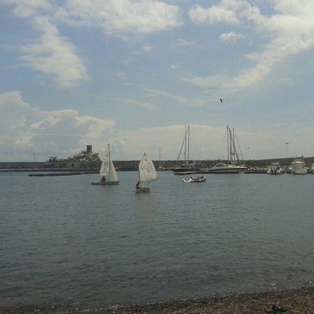 #ShareIG Altro giro altra corsa...con i bambini a lezione di vela a #RioMarina #isoladelba #isoladellosport #Lacostachebrilla #mare #sea #sailing #cve #Elbaisland #tuscany #tuscanygram #visitElba #visittuscany