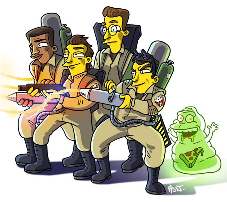 Simpsonized pop culture by ADN