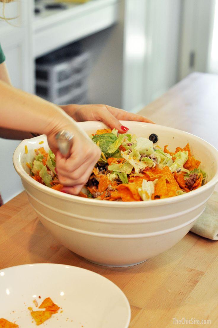 Quick and Easy Dorito Taco Salad Recipe