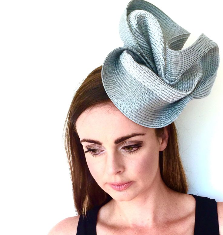 Derby hats for women, Royal Ascot hat, silver grey fascinator, fascinator for the races, ladies hat for the races, Punchestown races hat by IWantWhatsOnYourHead on Etsy https://www.etsy.com/uk/listing/274304164/derby-hats-for-women-royal-ascot-hat