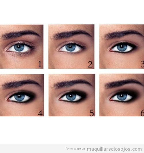 best maquillaje de ojos paso a paso images on pinterest makeup hairstyles and fashion