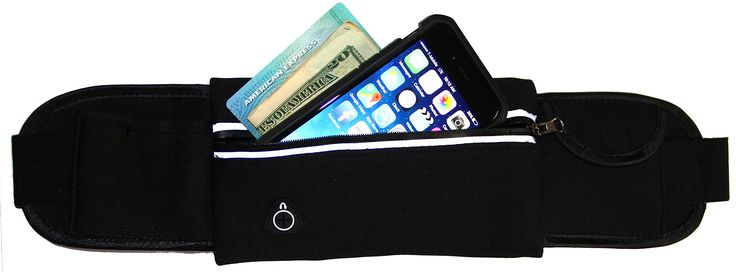 """Running & Activity Belt for iPhone 7, 6 / 6S, 6 Plus, 5 / 5S, SE & Galaxy S7 S6 S5 S4, LG, Moto, HTC One, Nexus & More (Black). COMPATIBILITY: Fits all of the iPhone and Samsung model phones up to 3.5"""" x 6.5"""" including iPhone 7, 6 6S Plus, Samsung Galaxy S Series, LG G5 and many others. PROTECTION: This belt protects and keeps your device safe from sweat and moisture. EASY TO USE: Includes handy reflective zipper pouch and headphone access port. STORAGE: Includes storage pouches for your..."""
