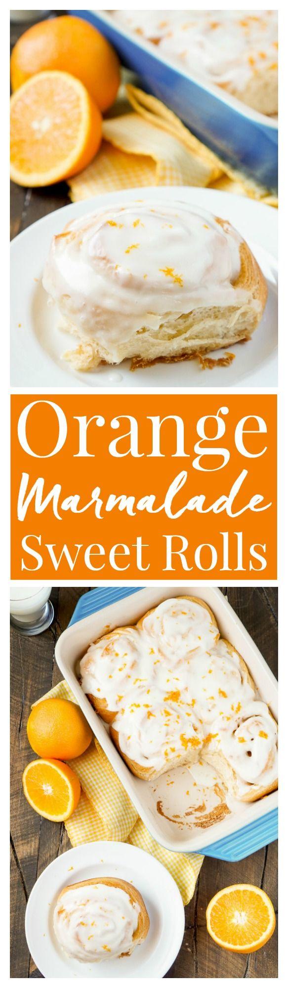 Orange Marmalade Cream Cheese Sweet Rolls | Recipe | Marmalade, Sweet ...