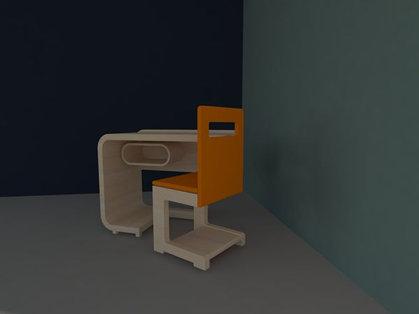 "School furniture ""DAY"" for childrens (6-10 years) on Behance"