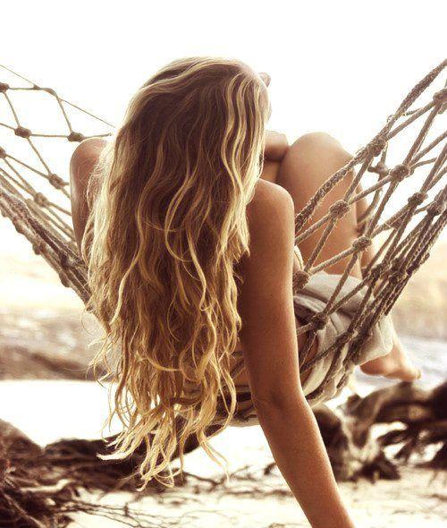 capelli mossi beach