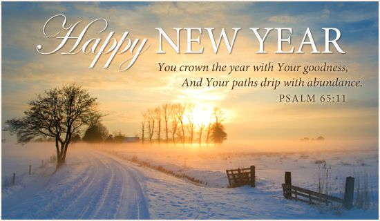 HAPPY NEW YEAR & BLESSINGS to ALL!