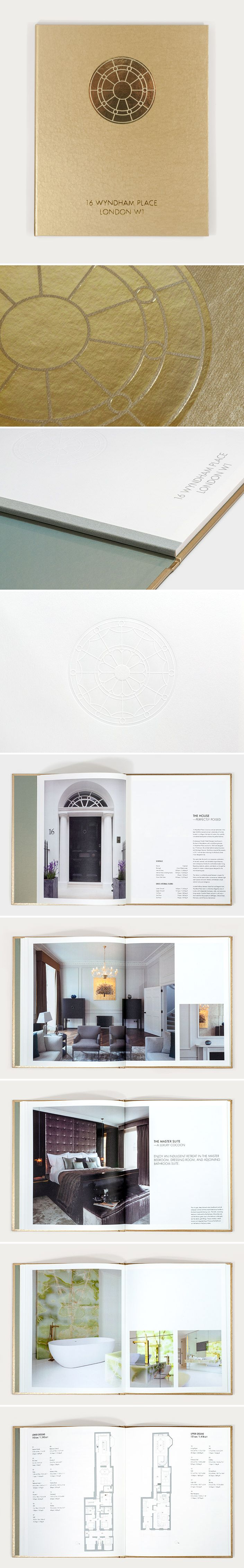Luxury coffee table book for property developers Studioloop by Phage, launching their latest development to market. One of the most striking features—a beautifully restored fanlight—is developed into a visual motif for the book; foil-blocking it on the front cover, debossing it on the title page, and referencing it in the photography throughout. View the full project at: www.phagedesign.co.uk/showcase/luxury-brochure-design.php