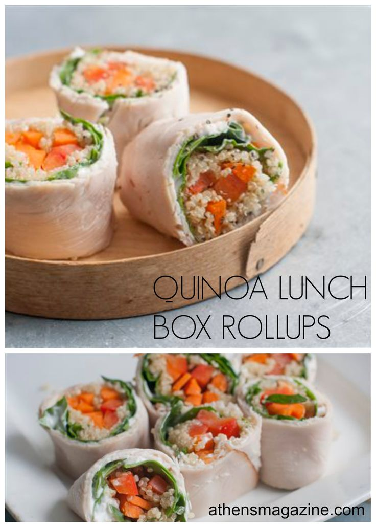 Rethinking Sushi with Quinoa Lunch Rollups. http://athensmagazine.com/archives/3334 #quinoa #sushi #lunch #recipe #athens #georgia