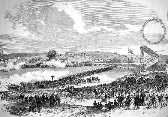 Liverpool, history, liverpool-history-l17-sefton-park-volunteer-review-1867
