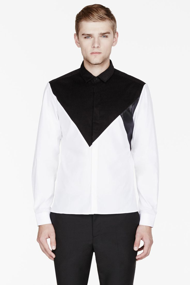 white and black shirt mens is shirt