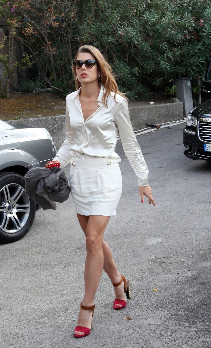 Charlotte Casiraghi - Say you will, hand in hand.