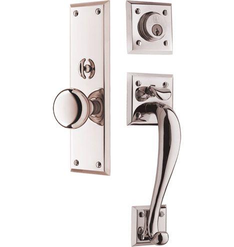 Coleman Classic Knob Exterior Door Set Outdoor Front Door Hardware And Bru