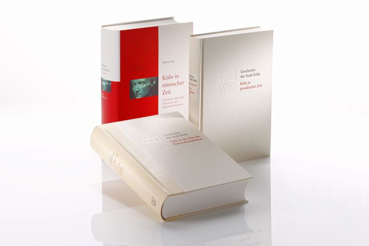 GREVEN VERLAG // BOOKS »History of the City of Cologne« – printed on phoenixmotion xantur, 115 g/qm