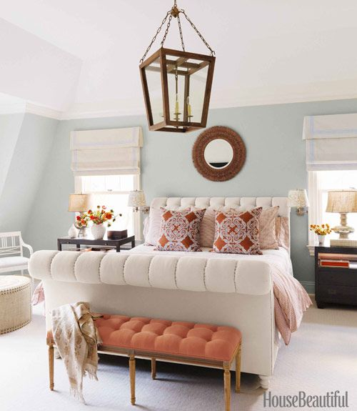 Benjamin moore blue lace wall color wall paint colors for House beautiful bedrooms