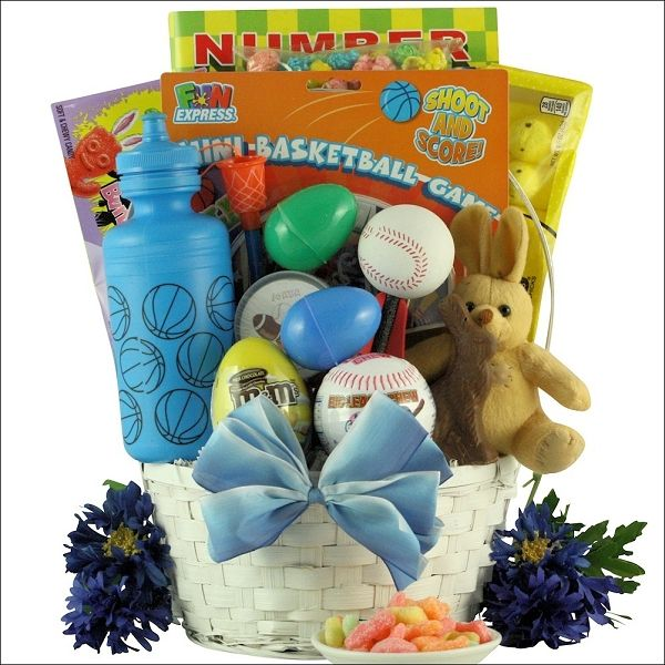 15 best easter gift ideas images on pinterest easter gift easter baskets game sports easter gift basket for boys at gift baskets etc negle Choice Image