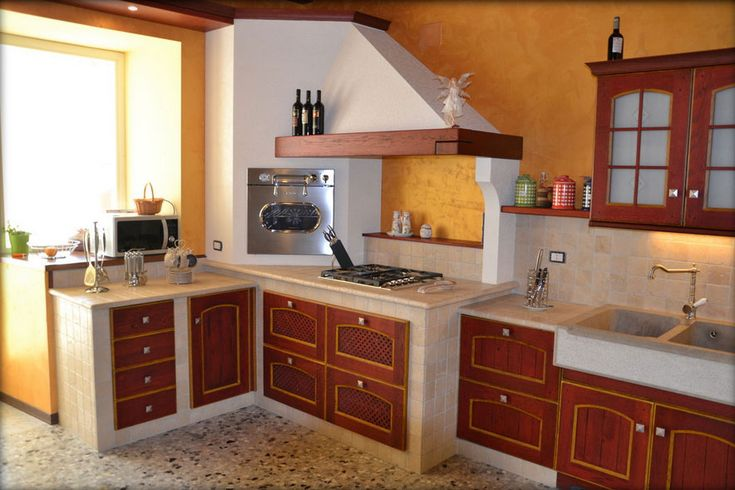 28 best cucina in muratura alessio images on pinterest - Mattonelle 10x10 cucina in muratura ...