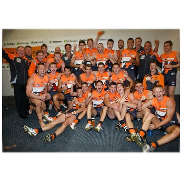 The GWS Giants get their first ever win!