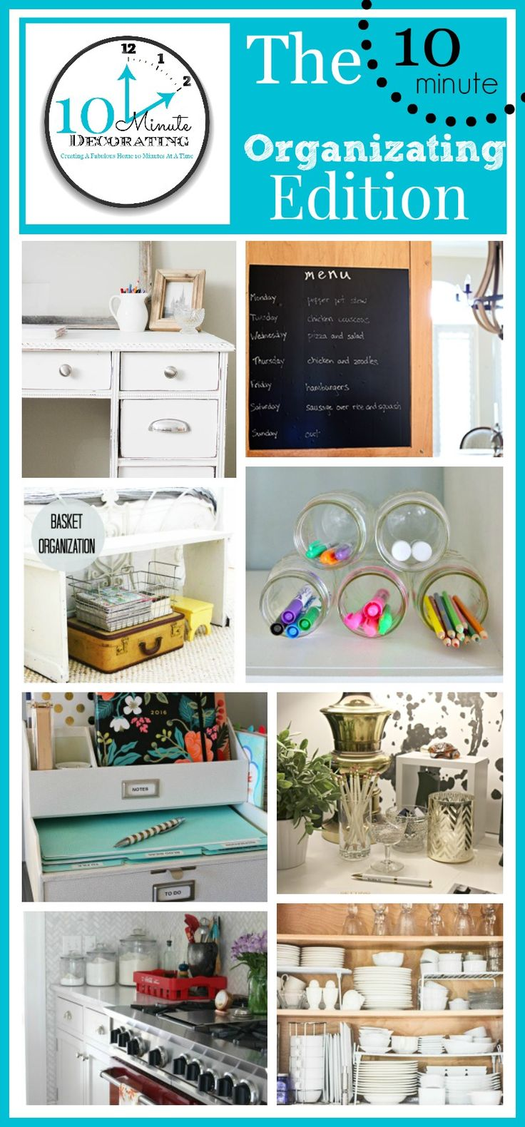 116 best images about Home Office Organization Ideas on Pinterest