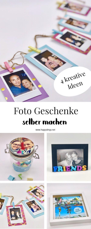 diy fotogeschenke selber machen - vier originelle ideen inspiriert