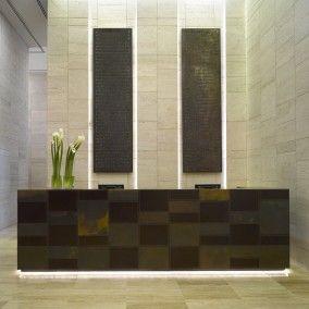 top Italian design for a 5 star hotel reception in Dubai UAE