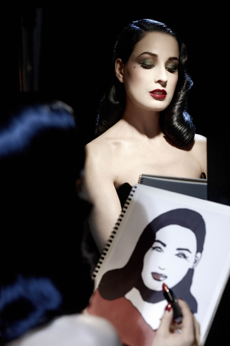 Dita von Teese make up line