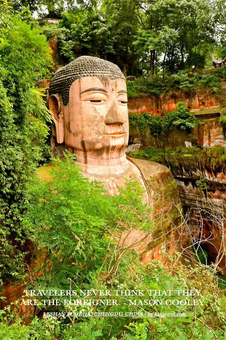 LESHAN BUDDHA, CHENGDU, CHINA