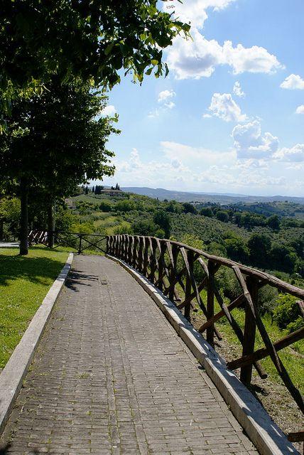 Montefalco, Umbria, Italy - Balcony of Umbria