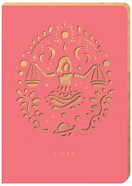 Portico Zodiac Collection A6 Notebook, Libra #clicktoshop