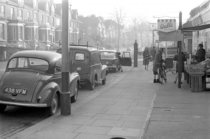 Unthank Road, Norwich,   was photographed for a car parking feature on March 15, 1966.