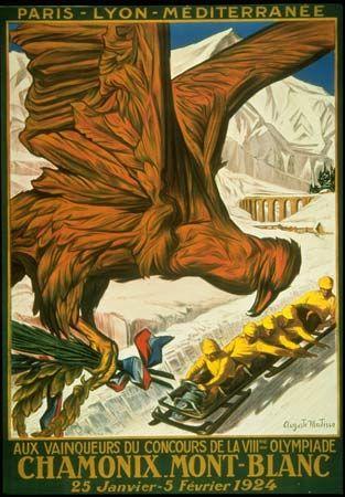 1924. First Winter Olympics.