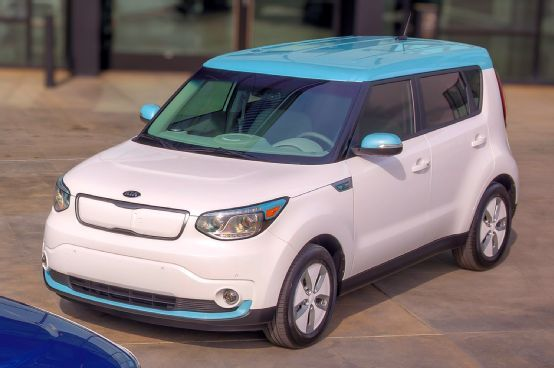 2015 Kia Soul EV In White Photo 12
