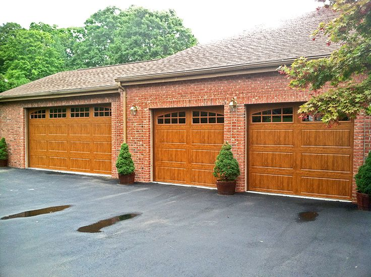 66 best images about wood look garage doors without the for Clopay garage door colors