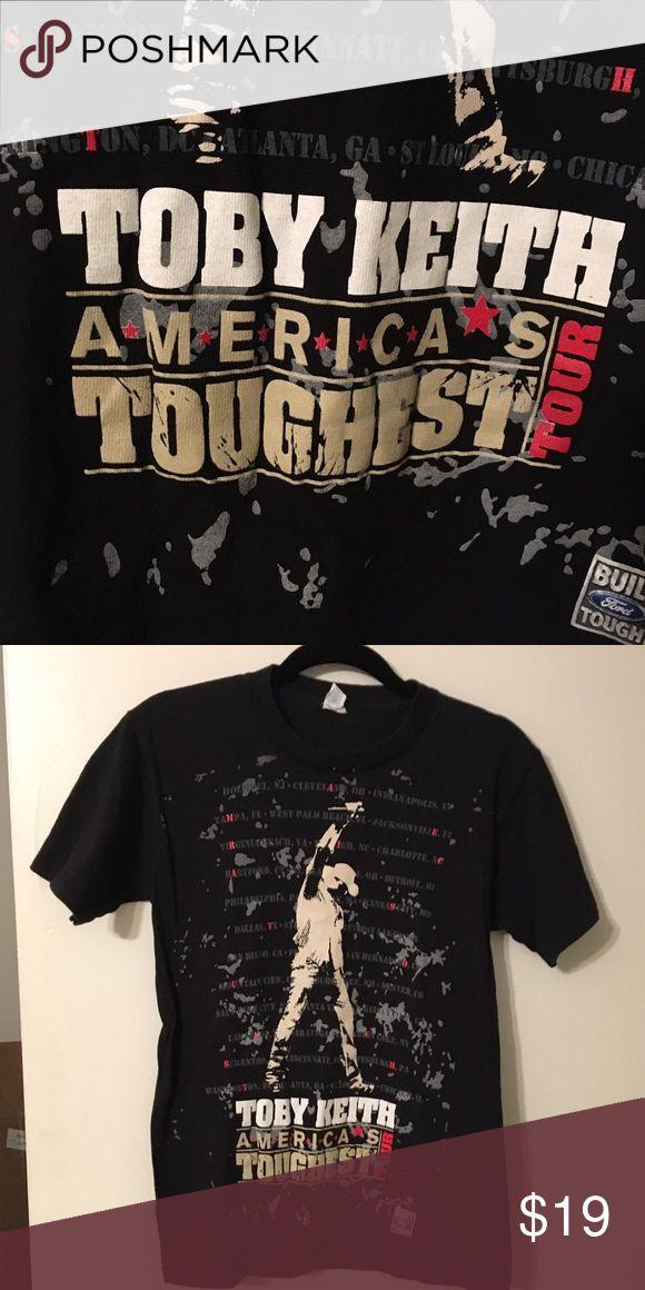 Toby Keith Concert T-Shirt Toby Keith Concert Shirt. Fun Band Tee. Tops Tees - Short Sleeve