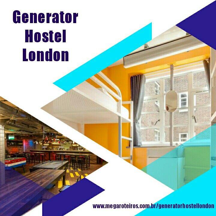 Generator Hostel - Londres, Reino Unido O Generator tem Café com internet, lounge e salão de jogos com mesas de sinuca. www.megaroteiros.com.br/generatorhostellondon