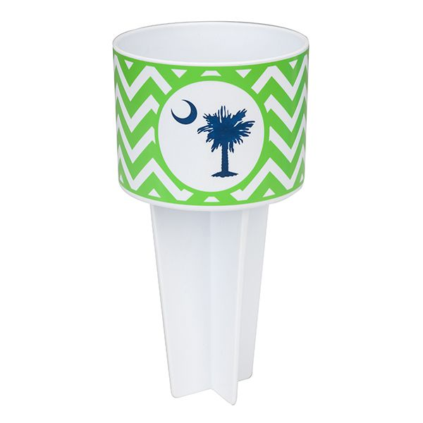 Beach Buddy Cup Holder-Palmetto Moon - Occasionally Made - Classic Gifts with a Trendy Twist!