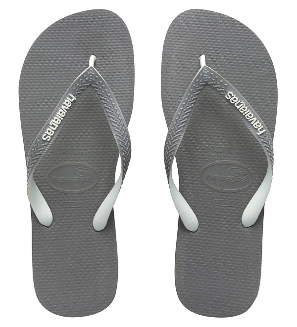 Havaianas Top Mix Grey/White $24.99
