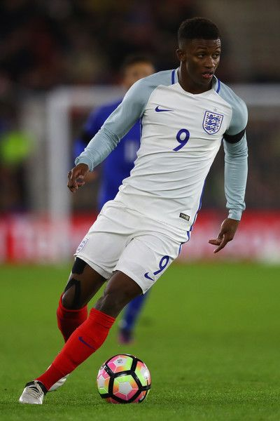 Demarai Gray of England during the FIFA 2018 World Cup Qualifier between England and Italy at St Mary's Stadium on November 10, 2016 in Southampton, England.