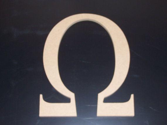 "2 12"" Sorority Greek Letters Unfinished Wood, w/Key hole, Beta,Delta,Kappa, 12.00 ea. FREE SHIPPING 12GK50X2"