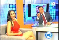 Entrevista A Angie Agramonte Con Carlos Batista En Con Los Famosos #Video