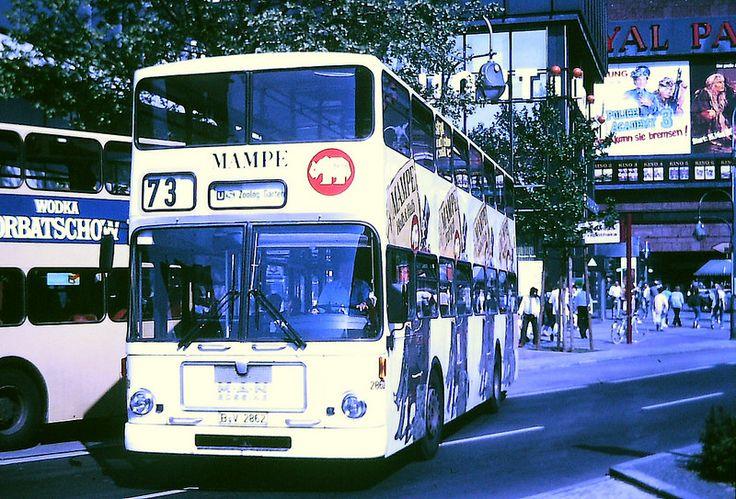 Omnibus der BVG Berlin (West)1986