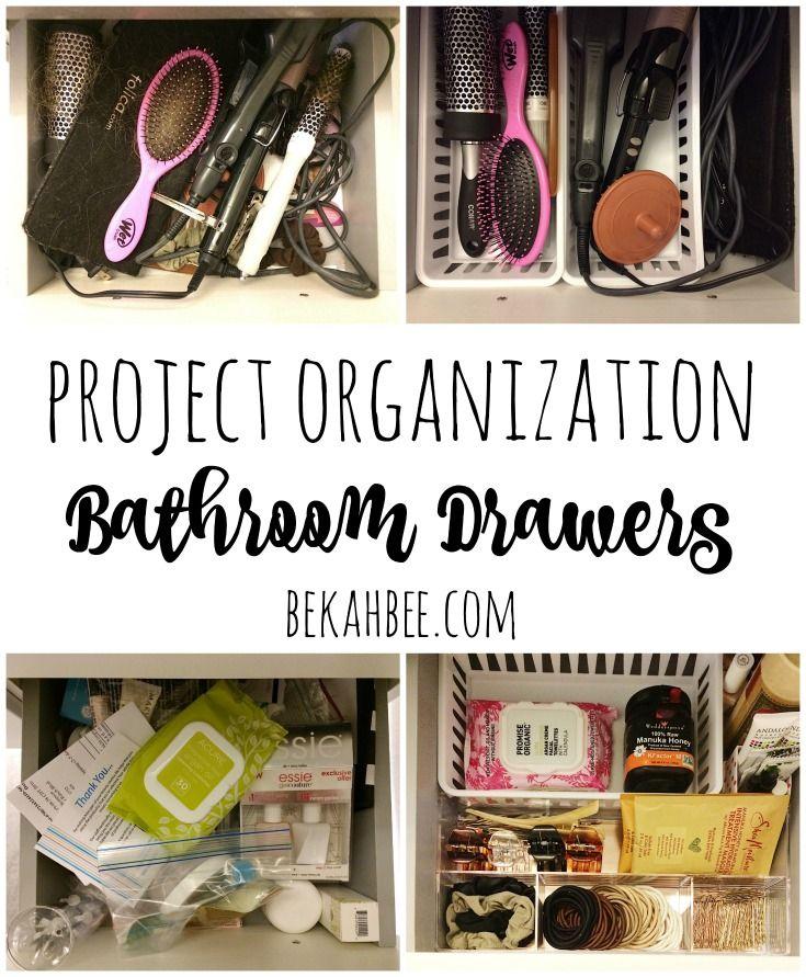 A Perfectly Organised Bathroom In One Day: Best 25+ Bathroom Drawer Organization Ideas On Pinterest