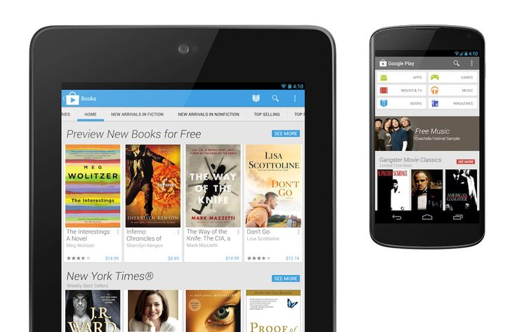 Google redesigns Play Store app with card-based interface