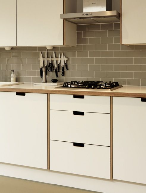 Birch ply kitchen home pinterest bristol the timber for White kitchen carcasses