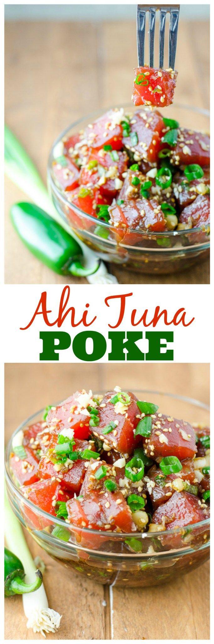 Ahi Tuna Poke